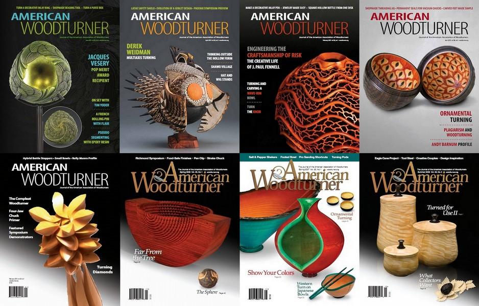 مجموعه مجلات آموزش خراطی چوب