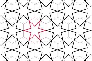 آموزش گره چینی – ترسیم ستاره شش بندی