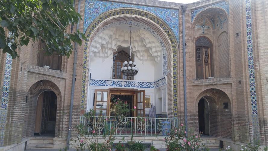 مستند آثار چوبی قدیمی امام زاده اسماعیل قزوین