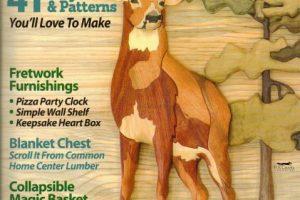مجله آموزش معرق چوب بهار سال ۲۰۱۸ شماره ۷۰
