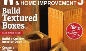 مجله Canadian Woodworking ژانویه سال ۲۰۱۸