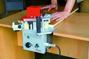 آموزش کار با دستگاه لبه چسبان پرتابل