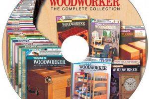 مجموعه مجلات نقشه ساخت وسایل چوبی To days woodworker