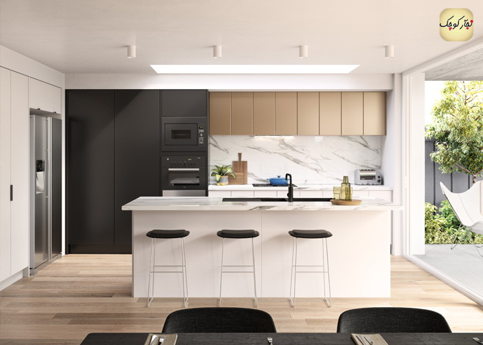 سریال آموزش ساخت و نصب کابینت آشپزخانه