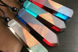 آموزش ساخت جواهرات ترکیب چوب و رزین