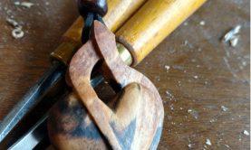 گردنبندهای چوبی