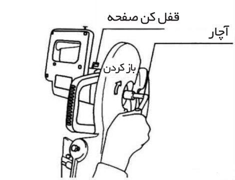 باز کردن تیغه اره فارسی بر