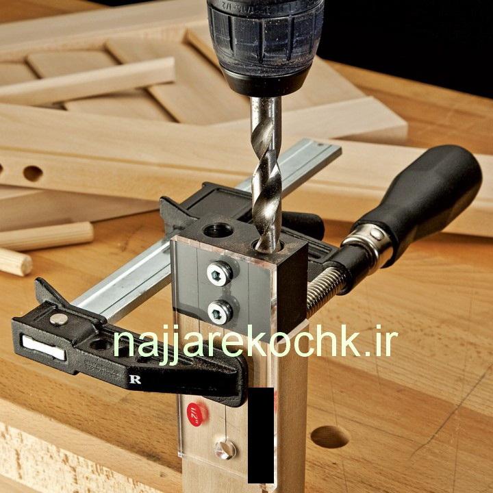 جیگ اتصال زن میخ چوبی