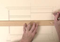 فیلم آموزش طراحی مبلمان چوبی منزل با دست