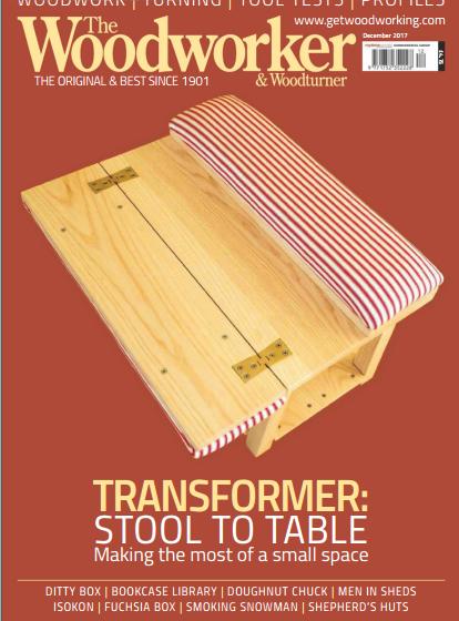 دانلود مجله نجاری The Woodworker&Wood turner دسامبر سال ۲۰۱۷