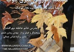 مستند آموزشی معرق چوب با خانم عاطفه مهرافشار