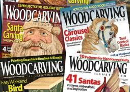 مجموعه کامل مجلات اموزش پیکرتراشی چوب
